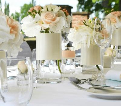 Beispiel: Tischdekoration, Foto: La Deko.