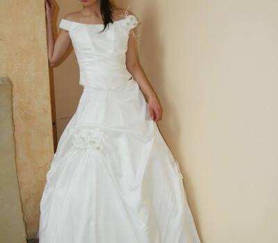 Beispiel: Brautmode, Foto: Cinderella.