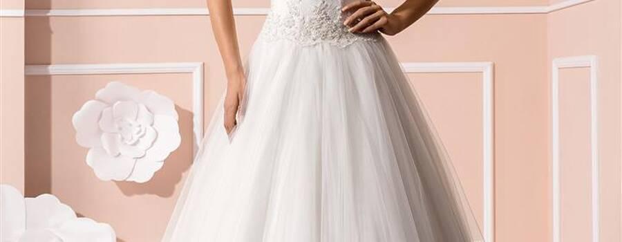 Beispiel: Brautkleider von bekannten Markenherstellern, Foto: Braut Atelier Blendel.