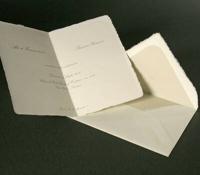 Partecipazione su Carta di Amalfi