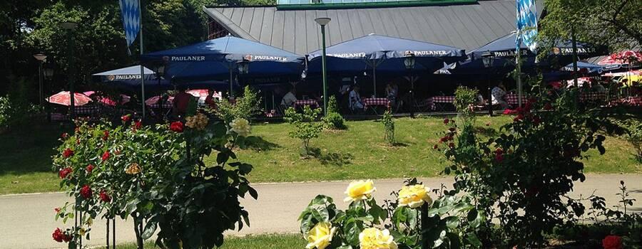 Beispiel: Aussenansicht, Foto: Wirtshaus am Rosengarten.