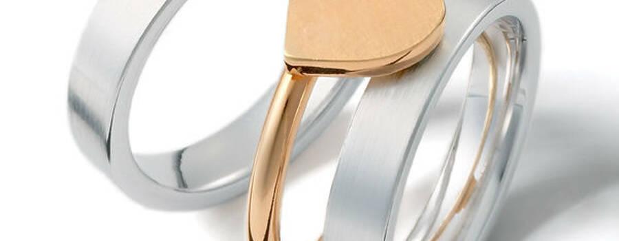 Beispiel: Ausgefallene Ringe, Foto: Gebrüder Weidner.