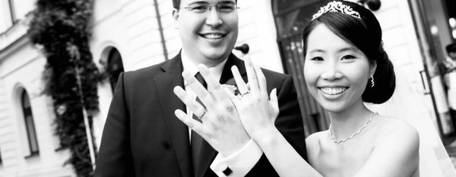 Beispiel: Brautpaar, Foto: Angela Pfeiffer.