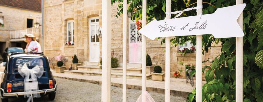 Toute la décoration pour votre mariage sur E-Options !