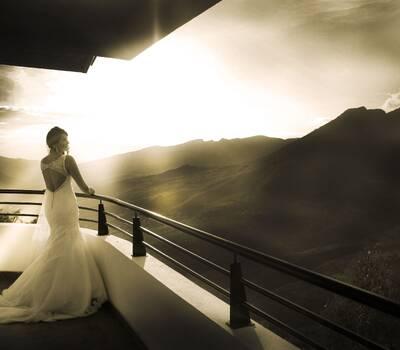 Atardecer, boda destino Fotografía: Santiago Ospina