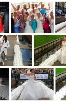 Bruidsmode en avondmode