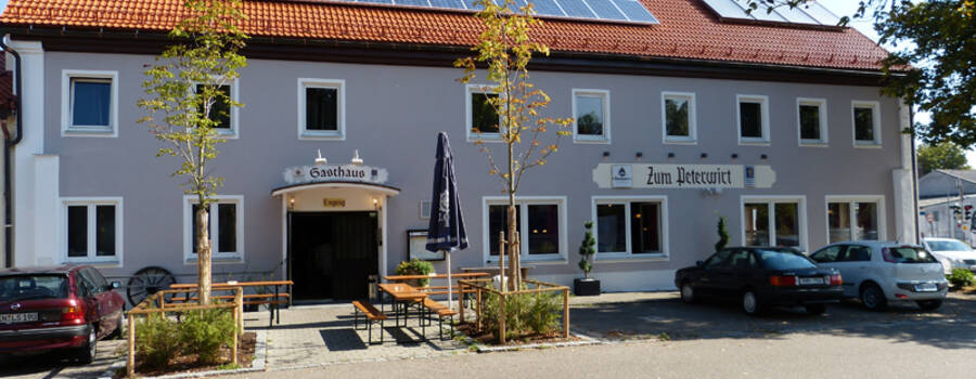 Beispiel: Aussenansicht, Foto: Gasthof Peterwirt.