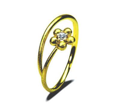 Beispiel: Einzigartige Verlobungsringe, Foto: Die Trauringe.