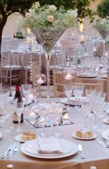 decorazioni in coppa Martini
