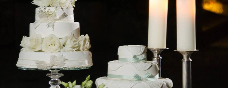Bolo baptizado + Bolo casamento