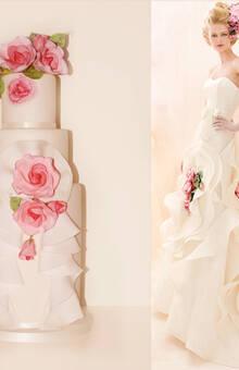 Rose Dress Cake