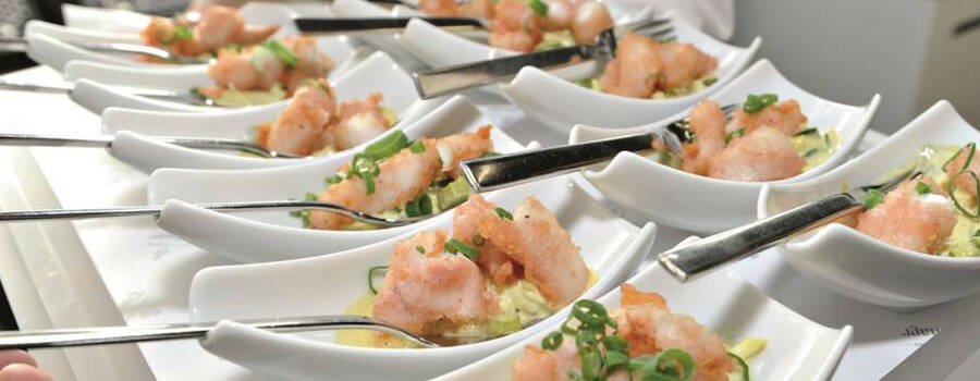 Beispiel: Ihr Hochzeitscatering, Foto: Dallmayr Partyservice.