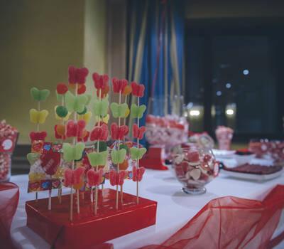 Mesa de Chuches o Candy Bar personalizado