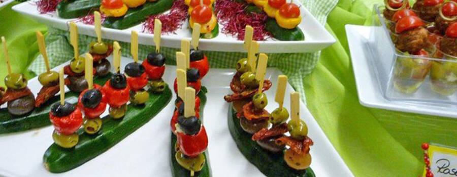 Beispiel: Fingerfood, Foto: Metzgerei Huber.