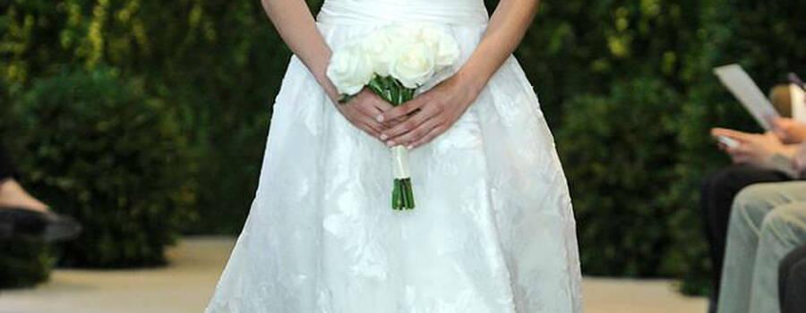 Vestido de novia - Foto Carolina Herrera