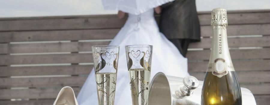 Beispiel: Eine traumhafte Hochzeit, Foto: Drei Haselnüsse.