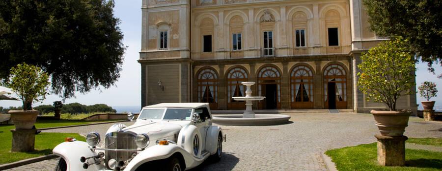 Park Hotel Villa Grazioli: Arrivo degli sposi