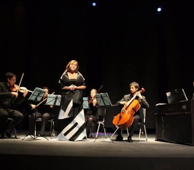 Ensamble SantiagoArte, conciertos