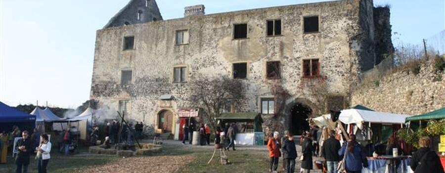 Beispiel: Schloss aussen, Foto: Schloss Burkheim.