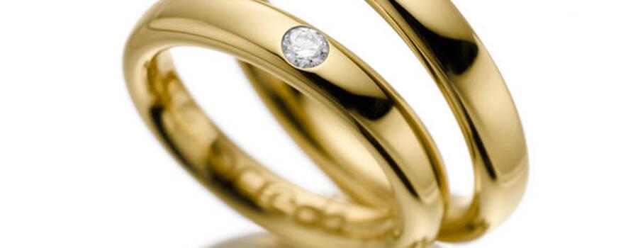 Beispiel: Trauringe zur Hochzeit, Foto: Acredo.