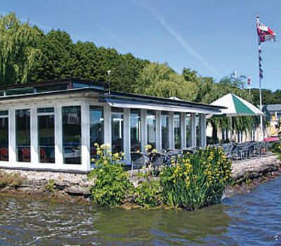 Beispiel: Aussenansicht, Foto: Alsterköche im Ruderclub Favorite Hammonia.