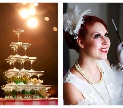 Vintage Hochzeit im 20er Jahre Look - LoveLi Hochzeitsplanung