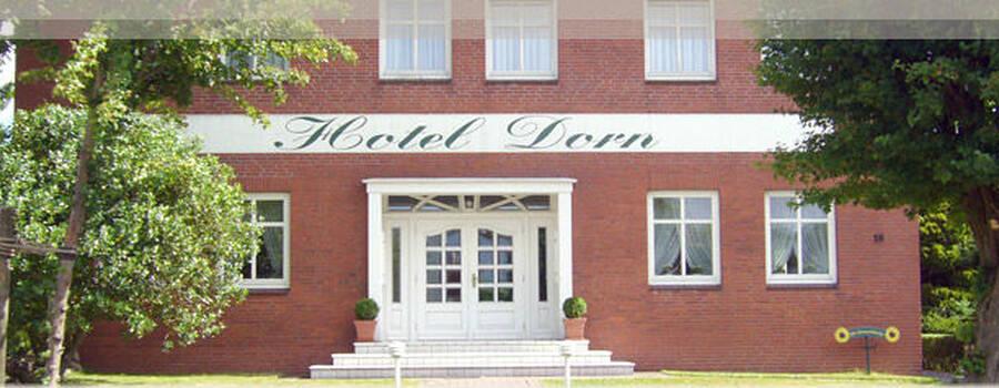 Beispiel: Außenansicht, Foto: Hotel Dorn.