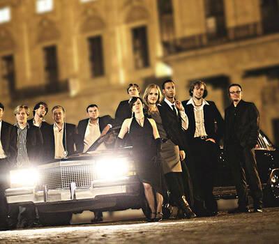 Beispiel: Komplette Bandbesetzung, Foto: Funk Street.