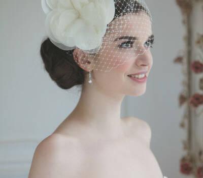Beispiel: Kopfschmuck, Foto: Oprée Brautmoden Accessoires.