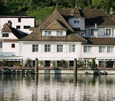 Beispiel: Aussenansicht, Foto: Rheinhotel Fischerzunft.