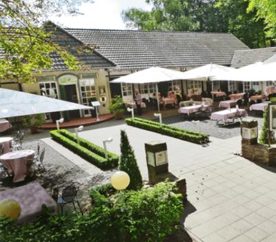 Beispiel: Außenansicht - Terrasse, Foto: Landhaus Kuckuck.