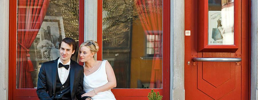 Beispiel: Wunderschöne Hochzeitsfotos, Foto: Sandra Stamm Fotografie.