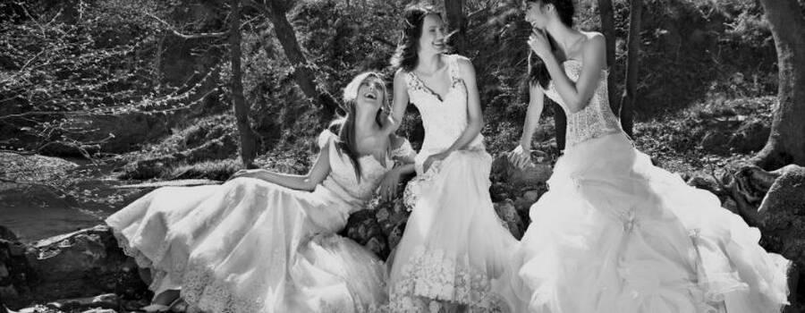 Beispiel: Für jede Braut das richtige Kleid, Foto: Brautmoden Center Stefanie.