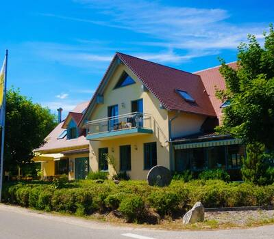 Beispiel: Außenansicht, Foto: Landgasthof Rücklenmühle.
