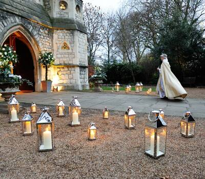 Winter Wedding at The Connaught, Mayfair - Stylish Events