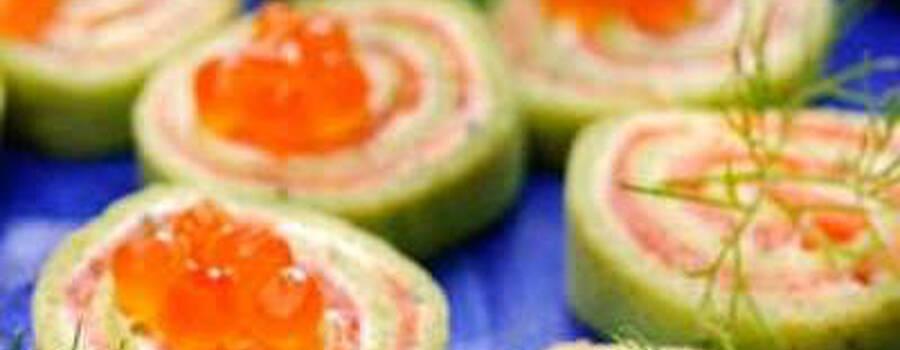 Beispiel: Fingerfood, Foto: Kunz-Mahl.