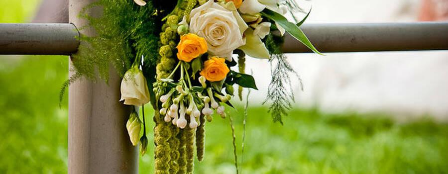 Beispiel: Brautstrauß, Foto: Angela Lanz - Floristik und Ambiente.