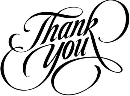 thank you - Thankyou Liste De Mariage