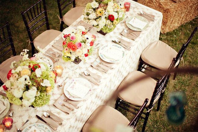 Mesas decoradas para la boda for Mesas de bodas decoradas