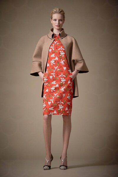 Inspiração de vestidos para convidadas de casamento: coleção Carolina Herrera outono inverno. Foto: Carolina Herrera. Foto: Carolina Herrera.