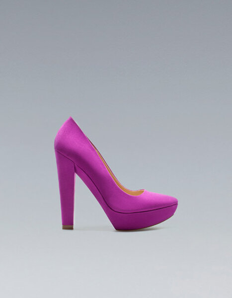 Zapatos fluor para invitadas a una boda