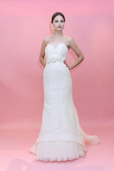 Vestido de novia Badgley Mischka 2013