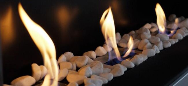 Da calor a tu hogar con una chimenea de Art Decó SShuo
