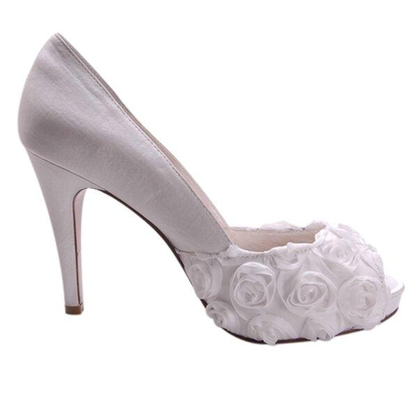 Buty ślubne z kolekcji Allure Bridals, model: coco