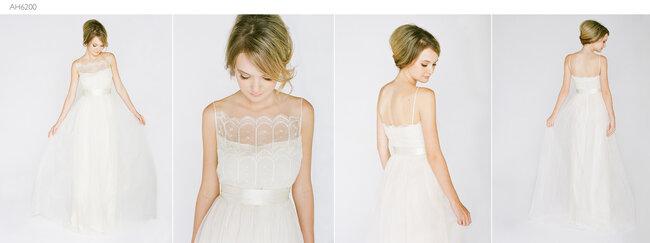 Suknia ślubna z kolekcji Saja Wedding na jesień 2013 roku, model: AH6200