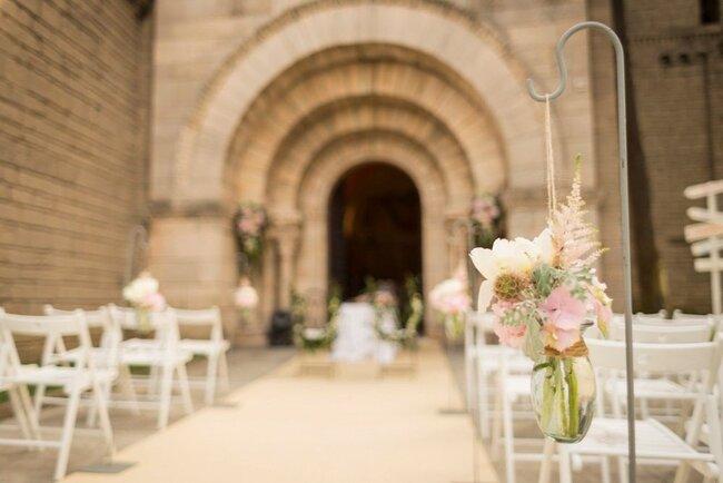 Decoración perfecta para una boda elegante.