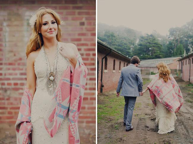Estilo bohemio para boda.