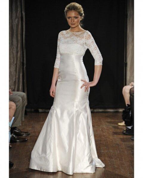 Suknia ślubna z wiosennej kolekcji Sarah Jassir 2013