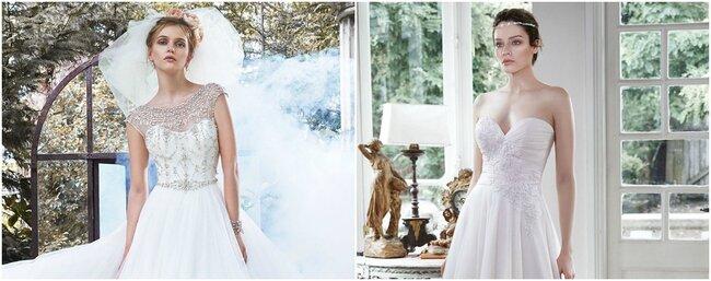 Colección otoño 2015 de vestidos de novia de Maggie Sottero.