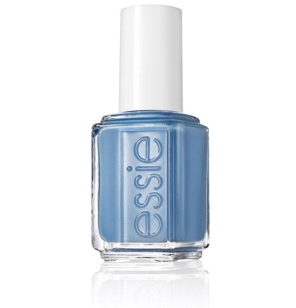 Esmalte para novia en color azul cobalto